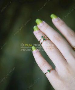 Nhẫn Ngọc Bích Nephrite Jade (VNB-NN113)