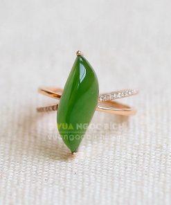 Nhẫn Ngọc Bích Nephrite Jade (VNB-NN114)