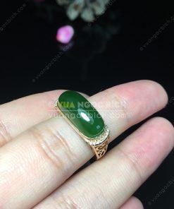 Nhẫn Ngọc Bích Nephrite Jade (VNB-NN115)
