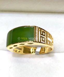 Nhẫn Ngọc Bích Nephrite Jade (VNB-NN117)