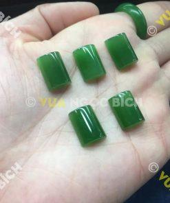 Mặt đá trang sức Ngọc Bích Nephrite Jade (VNB-MDTS017)