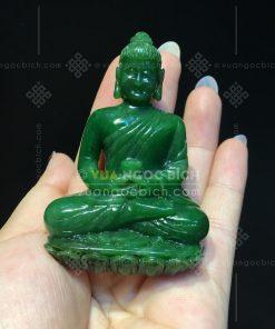 Tượng Phật Thích Ca Mâu Ni (Sakya Muni) Ngọc Bích VVIP - 1