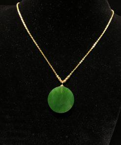 Mặt Dây Ngọc Bích Nephrite Jade (VNB-MD252-3)