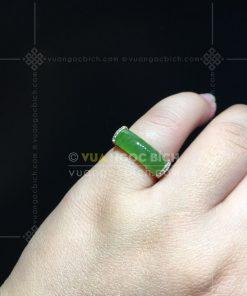 Nhẫn Ngọc Bích Nephrite Jade (VNB-NN156)