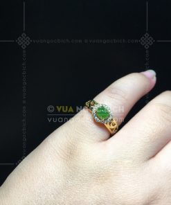 Nhẫn Ngọc Bích Nephrite Jade (VNB-NN157)