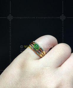 Nhẫn Ngọc Bích Nephrite Jade (VNB-NN158)