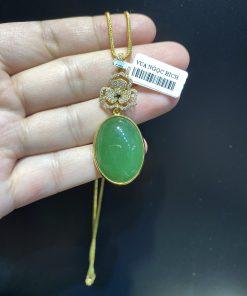 Mặt Dây Ngọc Bích Nephrite Jade (VNB-MD344)