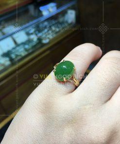 Nhẫn Ngọc Bích Nephrite Jade (VNB-NN165)