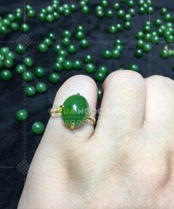 Nhẫn Ngọc Bích Nephrite Jade (VNB-NN167)